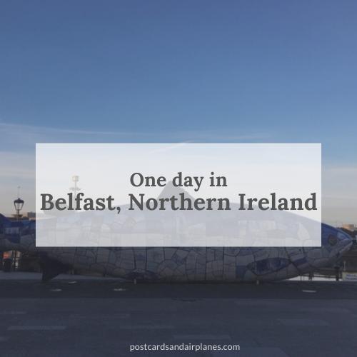 One day in Belfast, NorthernIreland