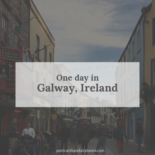 One day in Galway, Ireland