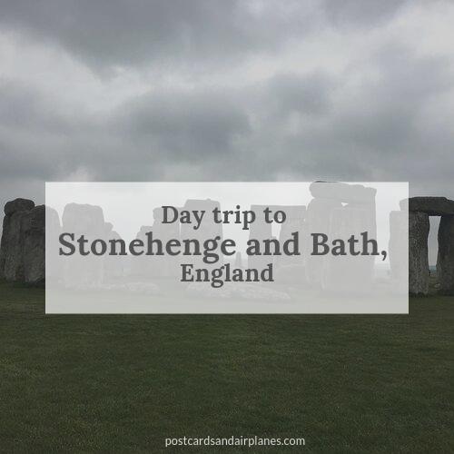 Day trip to Stonehenge and Bath,England