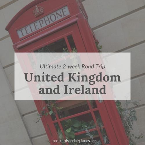 Road Trip through the United Kingdom andIreland