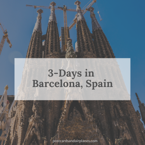 Three Days in Barcelona