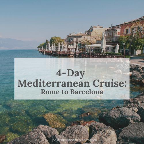 Mediterranean Meandering: 4-Day MediterraneanCruise