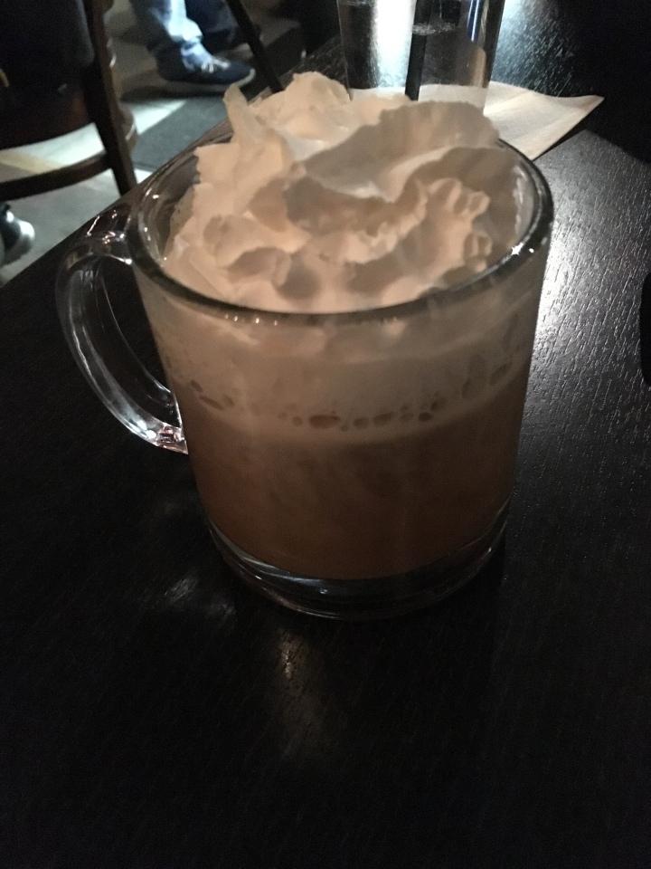 Irish Coffee to warm us up