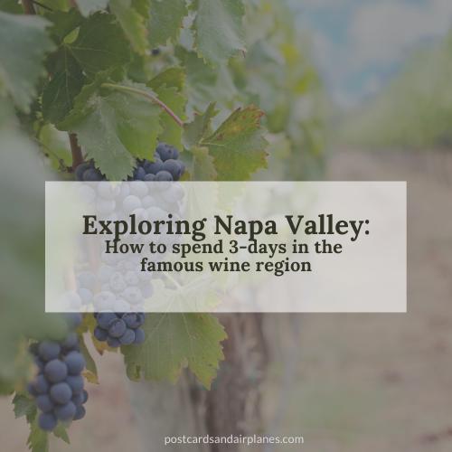 Visiting Napa Valley duringCOVID-19